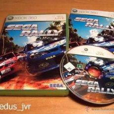 Videojuegos y Consolas: SEGA RALLY JUEGO PARA MICROSOFT XBOX 360 PAL COMPLETO EN ESPAÑOL Y EN BUEN ESTADO. Lote 56718578