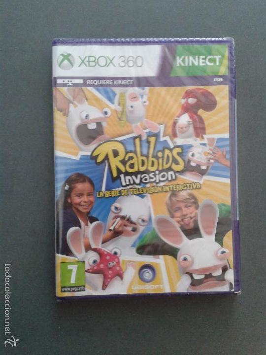 VIDEOJUEGO: RABBIDS INVASION: LA SERIE DE TV INTERACTIVA. PARA XBOX 360-KINECT . PRECINTADO. UBISOFT (Juguetes - Videojuegos y Consolas - Microsoft - Xbox 360)