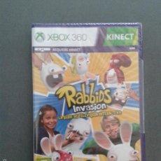 Videojuegos y Consolas: VIDEOJUEGO: RABBIDS INVASION: LA SERIE DE TV INTERACTIVA. PARA XBOX 360-KINECT . PRECINTADO. UBISOFT. Lote 57435563