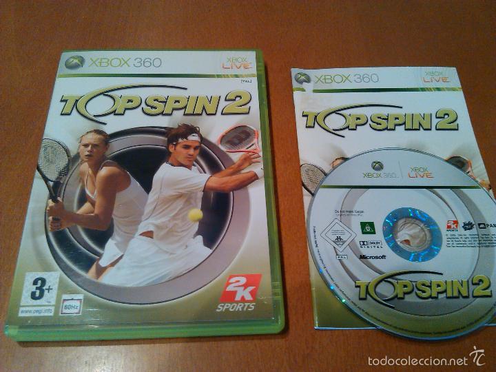 XBOX 360 - TOP SPIN 2 PAL/ESPAÑA. (Juguetes - Videojuegos y Consolas - Microsoft - Xbox 360)