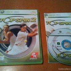 Videojuegos y Consolas: XBOX 360 - TOP SPIN 2 PAL/ESPAÑA.. Lote 57527711