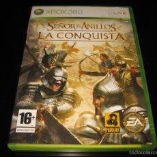 Videojuegos y Consolas: EL SEÑOR DE LOS ANILLOS LA CONQUISTA XBOX 360 PAL ESPAÑA COMPLETO -PANDEMIC. Lote 168292964