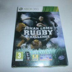 Videojuegos y Consolas: JOHAN LOMU RUGBY CHALLENGE XBOX 360 NUEVO A ESTRENAR PRECINTADO. Lote 57877003