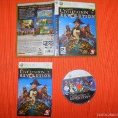 Videojuegos y Consolas: CIVILIZATION REVOLUTION - XBOX 360 - JUEGO INTEGRO EN ESPAÑOL - CONSTRUYE DESCUBRE DOMINA .... Lote 58213978