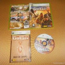 Videojuegos y Consolas: THE OUTFIT - XBOX 360 - THQ - RELIC - MANUAL Y TEXTOS EN CASTELLANO. Lote 58214051