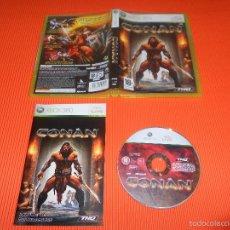 Videojuegos y Consolas: CONAN - XBOX 360 - PAL - THQ - TOTALMENTE EN CASTELLANO. Lote 41528574