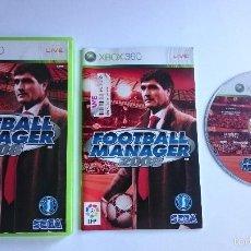 Videojuegos y Consolas: JUEGO COMPLETO FOOTBALL MANAGER 2008 XBOX 360 PAL ESPAÑA.BUEN ESTADO. Lote 58618999