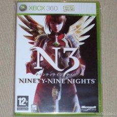 Videojuegos y Consolas: N3: NINETY-NINE NIGHTS, EN PERFECTO ESTADO PAL ING -X360-. Lote 59839924