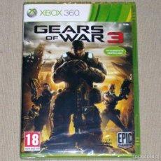 Videojuegos y Consolas: GEARS OF WAR 3, PRECINTADO PAL ESP -X360-. Lote 59843300