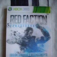 Videojuegos y Consolas: RED FACTION ARMAGEDDON - EDICIÓN COMANDO Y RECONOCIMIENTO - XBOX 360 - NUEVO . Lote 61196107