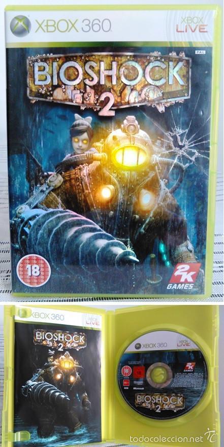 VIDEOJUEGO BIOSHOCK 2. JUEGO DE XBOX 360 DE 2K GAMES. PAL. EDICIÓN UK, COMPATIBLE. (Juguetes - Videojuegos y Consolas - Microsoft - Xbox 360)