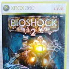 Videojuegos y Consolas: VIDEOJUEGO BIOSHOCK 2. JUEGO DE XBOX 360 DE 2K GAMES. PAL. EDICIÓN UK, COMPATIBLE.. Lote 61358534