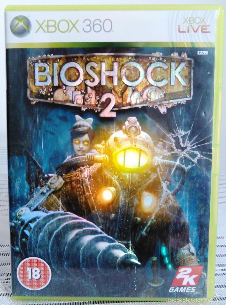 Videojuegos y Consolas: Videojuego Bioshock 2. Juego de Xbox 360 de 2K Games. PAL. Edición UK, Compatible. - Foto 2 - 61358534
