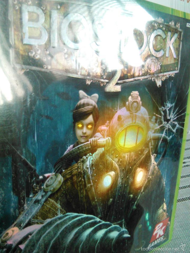 Videojuegos y Consolas: Videojuego Bioshock 2. Juego de Xbox 360 de 2K Games. PAL. Edición UK, Compatible. - Foto 3 - 61358534