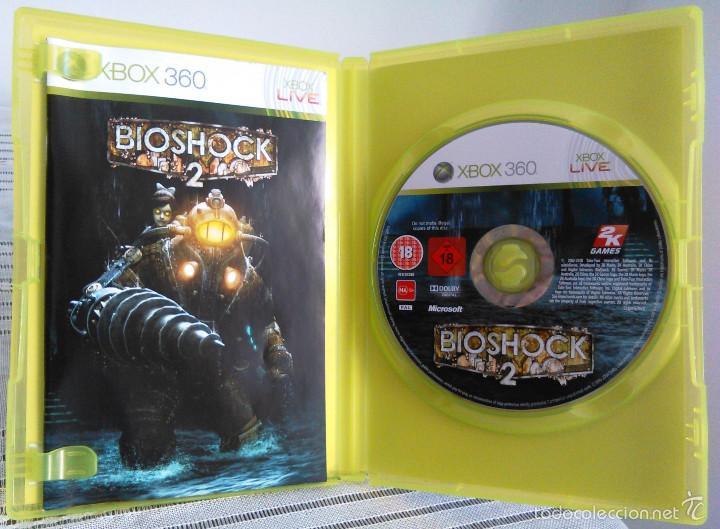 Videojuegos y Consolas: Videojuego Bioshock 2. Juego de Xbox 360 de 2K Games. PAL. Edición UK, Compatible. - Foto 6 - 61358534