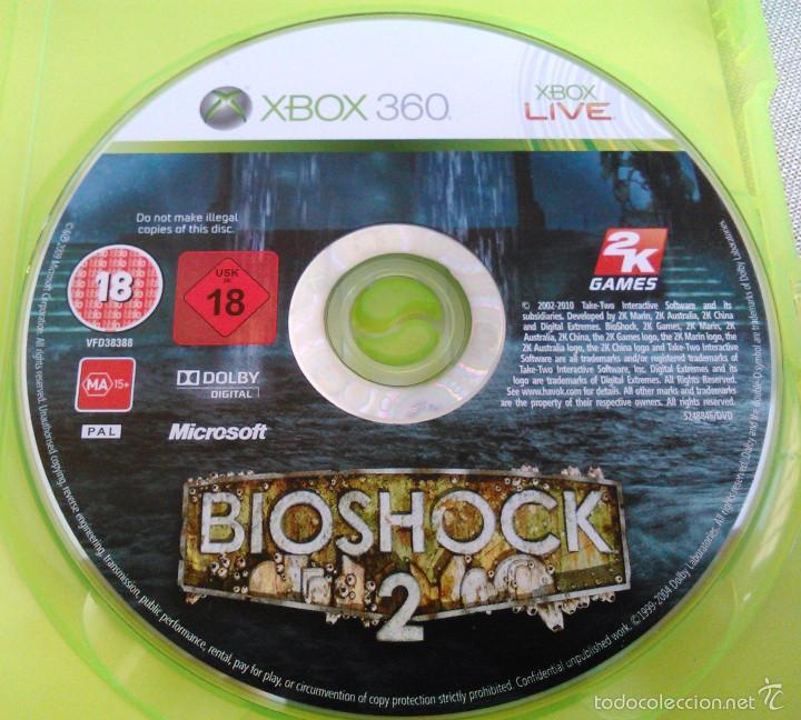 Videojuegos y Consolas: Videojuego Bioshock 2. Juego de Xbox 360 de 2K Games. PAL. Edición UK, Compatible. - Foto 9 - 61358534