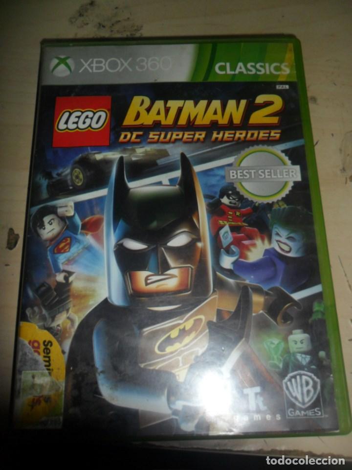 Xbox 360 Lego Batman 2 Dc Super Heroes Dc C Comprar