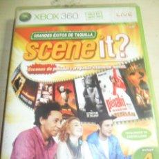 Videojuegos y Consolas: XBOX 360 - JUEGO SCENE IT? GRANDES EXITOS DE TAQUILLA (SOLO JUEGO) TOTALMENTE EN CASTELLANO. Lote 62172092