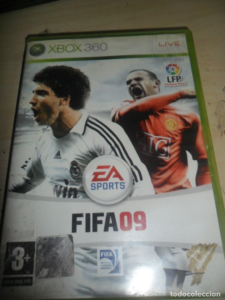 XBOX 360 - JUEGO FIFA 09 - EA SPORTS LFP VIDEOJUEGO OFICIAL (Juguetes - Videojuegos y Consolas - Microsoft - Xbox 360)