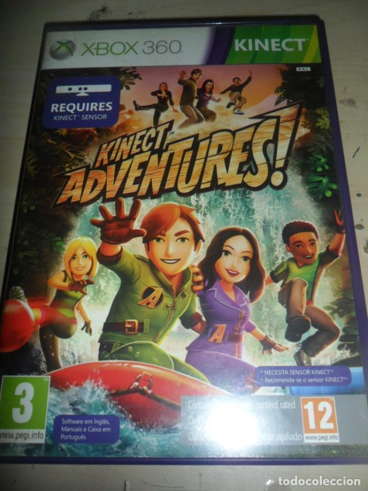 Xbox 360 Juego Kinect Adventures Requiere Comprar Videojuegos