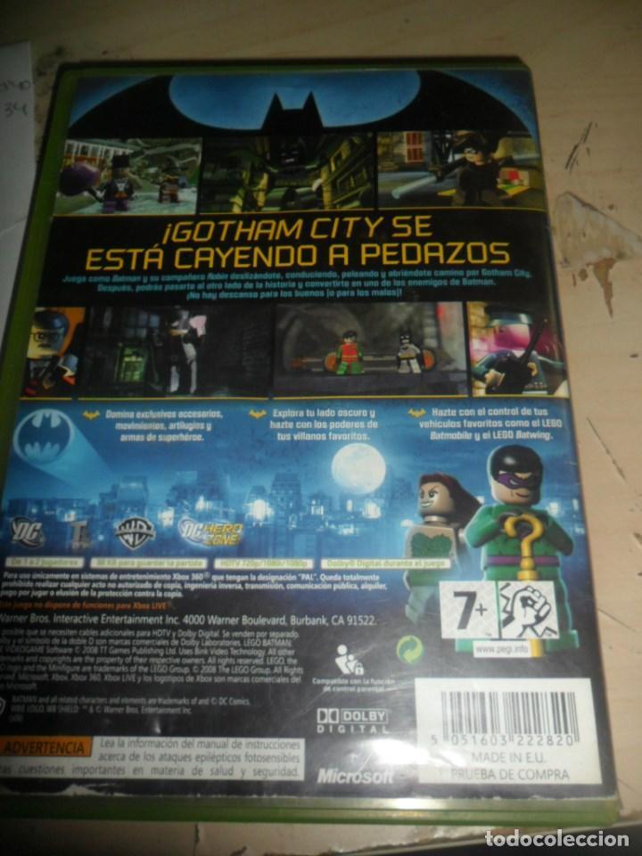 Xbox 360 Juego Lego Batman El Videojuego Dc Comprar