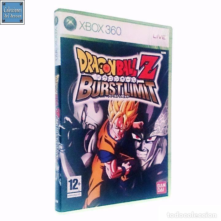 DRAGON BALL Z BURST LIMIT BURSTLIMIT / JUEGO XBOX 360 / PAL / BANDAI 2008 AKIRA TORIYAMA (Juguetes - Videojuegos y Consolas - Microsoft - Xbox 360)