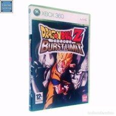 Videojuegos y Consolas: DRAGON BALL Z BURST LIMIT BURSTLIMIT / JUEGO XBOX 360 / PAL / BANDAI 2008 AKIRA TORIYAMA. Lote 62429120