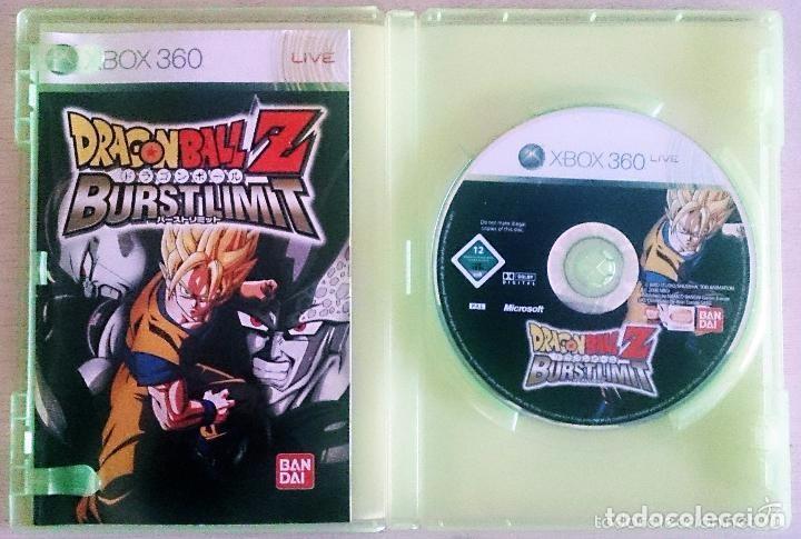Videojuegos y Consolas: Dragon Ball Z Burst Limit Burstlimit / Juego Xbox 360 / PAL / Bandai 2008 Akira Toriyama - Foto 2 - 62429120
