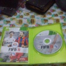 Videojuegos y Consolas: XBOX 360 FIFA 11. . Lote 62448596