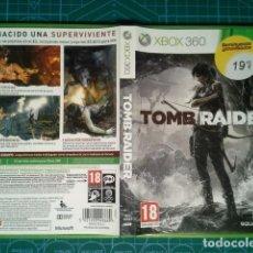 Videojuegos y Consolas: TOMB RAIDER XBOX 360. Lote 63304024