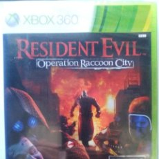 Videojuegos y Consolas: RESIDENT EVIL OPERATION RACCOON CITY. JUEGO XBOX 360. PAL-ESP. REPRECINTADO.. Lote 181513860