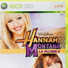 Videojuegos y Consolas: HANNAH MONTANA, LA PELÍCULA. JUEGO XBOX 360. NUEVO, PRECINTADO.. Lote 216913275