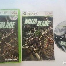 Videojuegos y Consolas: JUEGO COMPLETO NINJA BLADE PAL MICROSOFT XBOX 360 ESPAÑA. Lote 65252879