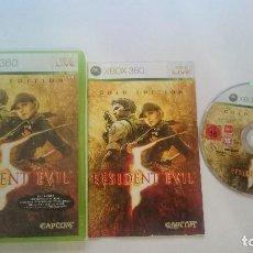 Videojuegos y Consolas: RESIDENT EVIL 5 GOLD EDITION COMPLETO PAL MICROSOFT XBOX 360 CASTELLANO.. Lote 65310395