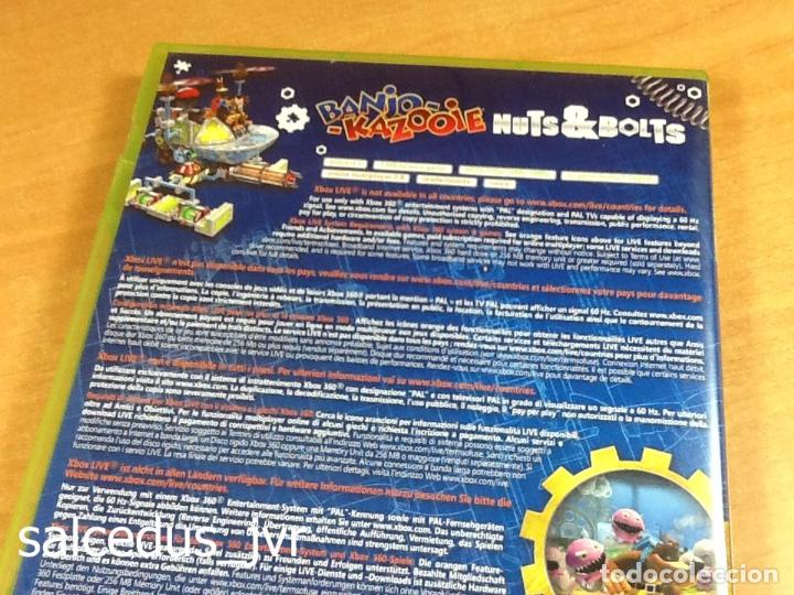 Banjo Kazooie: Nuts & Bolts Baches y Cachivaches para Microsoft Xbox 360  PAL España Completo