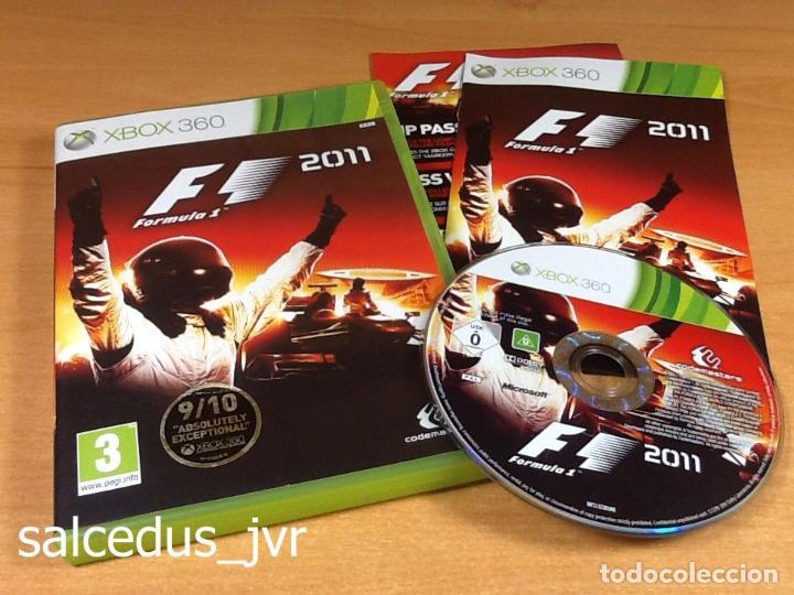 F1 2011 FORMULA 1 11 JUEGO PARA MICROSOFT XBOX 360 PAL EN ESPAÑOL COMPLETO (Juguetes - Videojuegos y Consolas - Microsoft - Xbox 360)