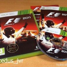 Videojuegos y Consolas: F1 2011 FORMULA 1 11 JUEGO PARA MICROSOFT XBOX 360 PAL EN ESPAÑOL COMPLETO. Lote 66871926