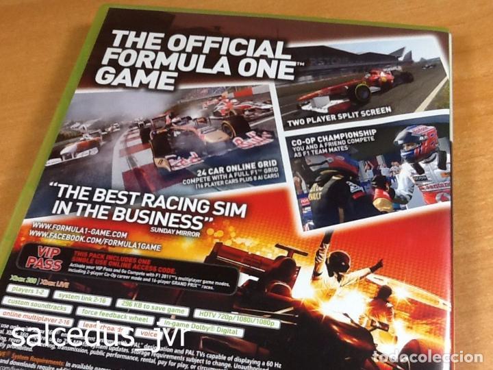 Videojuegos y Consolas: F1 2011 Formula 1 11 juego para Microsoft Xbox 360 PAL en Español Completo - Foto 3 - 66871926
