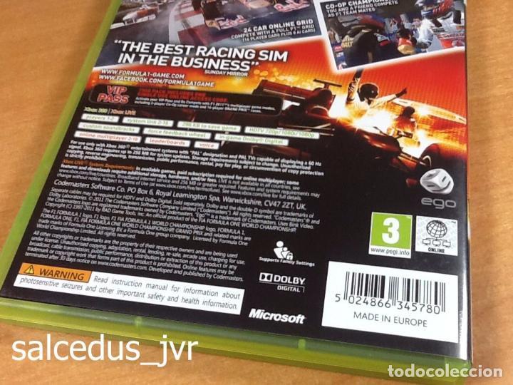 Videojuegos y Consolas: F1 2011 Formula 1 11 juego para Microsoft Xbox 360 PAL en Español Completo - Foto 4 - 66871926