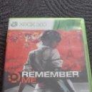Videojuegos y Consolas: REMEMBER ME- JUEGO XBOX 360,. Lote 68729569