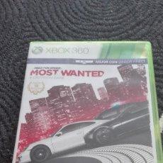 Videojuegos y Consolas: MOST WANTED- JUEGO XBOX 360, . Lote 68729713