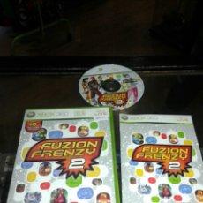 Videojuegos y Consolas: JUEGO,XBOX 360,FUZION FRENZY 2,CAJA Y MANUAL EN INGLES,JUEGO EN ESPAÑOL. Lote 68923671