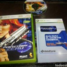 Videojuegos y Consolas: JUEGO,XBOX 360,PERFECT DARK ZERO,PAL ESPAÑA. Lote 68926547