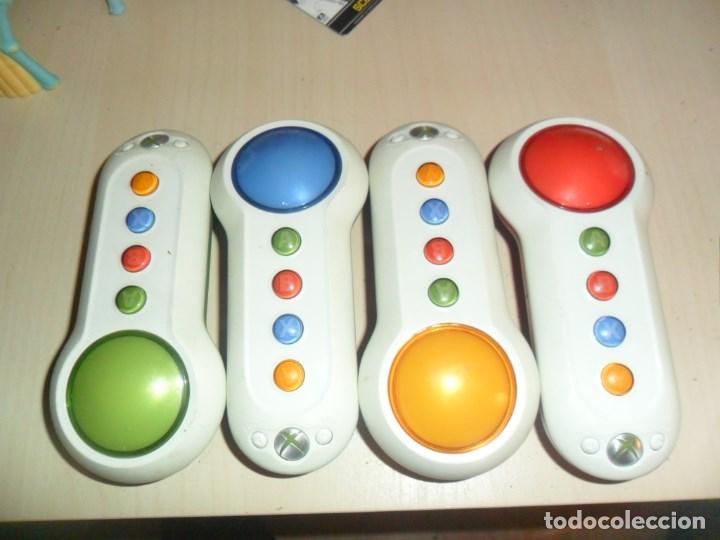 MANDOS CONSOLA XBOX 360 - SCENE IT - 4 MANDOS - SIN USO (Juguetes - Videojuegos y Consolas - Microsoft - Xbox 360)