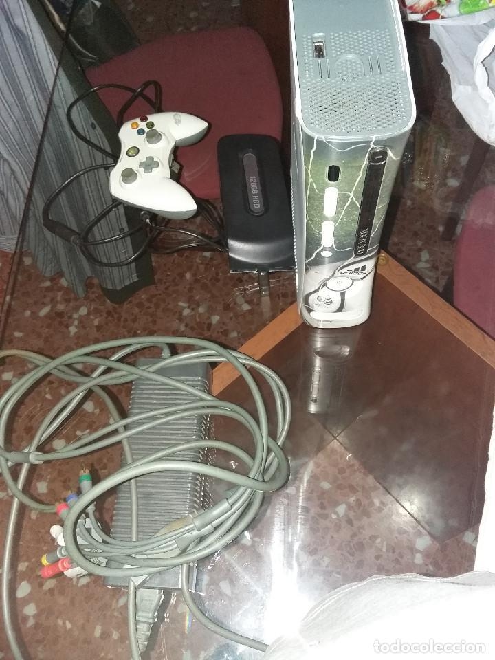 Videojuegos y Consolas: xbox 360 + mando + hd 120 gigas + cables + cargador + juego ( LEER DESCRIPCION) - Foto 2 - 69904953