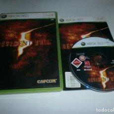 Videojuegos y Consolas: RESIDENT EVIL 5 XBOX 360. Lote 73965539