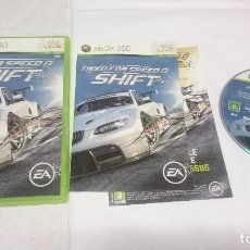 Videojuegos y Consolas: NEED FOR SPEED SHIFT PAL MICROSOFT XBOX 360 UK INGLÉS.. Lote 70491313
