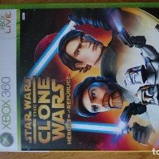 Videojuegos y Consolas: STAR WARS THE CLONE WARS XBOX 360 VIDEOJUEGO DVD. Lote 70697797