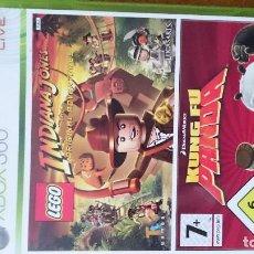 Videojuegos y Consolas: LEGO INDIANA JONES LA COLECCIÓN COMPLETA MICROSOFT XBOX 360 VIDEOJUEGO DVD. Lote 70705069