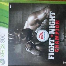Videojuegos y Consolas: FIGHT NIGHT CHAMPION EDICION ESPECIAL MICROSOFT XBOX 360 VIDEOJUEGO DVD. Lote 70707981